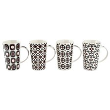 Marrakesh 15.5 oz. Mug (Set of 4) (Set of 4)