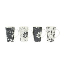 Daisy May 15.5 oz. Mug (Set of 4)