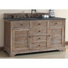 "Savannah 60"" Single Cabinet Vanity Base"