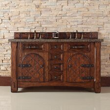 "Marrakesh 60"" Double Bathroom Vanity"