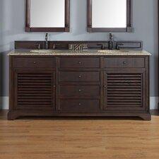 "Savannah 72"" Double Bathroom Vanity Set"