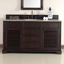 "Savannah 60"" Single Bathroom Vanity Set"