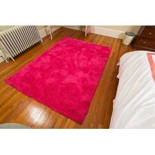 Super Soft Micro Fiber Pink Area Rug