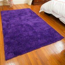 Super Soft Micro Fiber Violet Area Rug