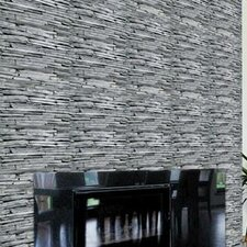 "Wall Expressions 20' x 20"" Slate Panels Wallpaper (Set of 4)"