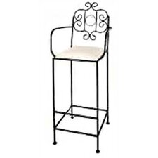"""French 30"""" Bar Stool with Cushion"""