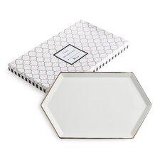 Luxe Moderne Hexagonal Tray