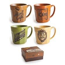 Cafe Belle Epoque 20 oz.Mugs (Set of 4)