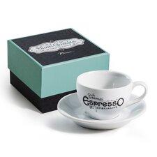 Buon Gustaio Espresso Mug and Saucer