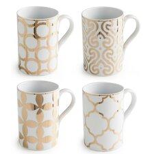 Luxe Moderne 11 Oz. Mug (Set of 4)