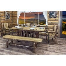 Glacier Country Trestle Based Dining Table