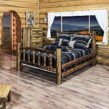 Glacier Country Log Bed