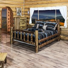 Glacier Country Panel Customizable Bedroom Set