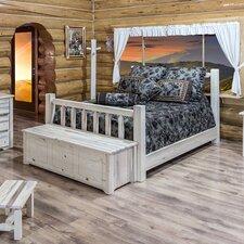 Homestead Slat Panel Bed
