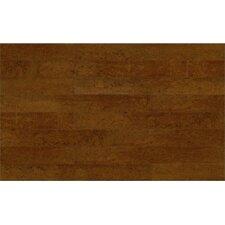 """Corkcomfort 5-1/2"""" Engineered Cork Hardwood Flooring in Chestnut"""