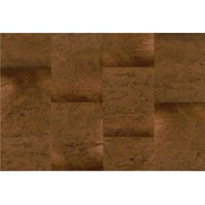 "CorkComfort 17-1/2"" Engineered Cork and Hardwood Flooring in Moccaccino"