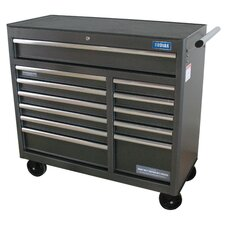 "Rolling 41.5"" Wide 12 Drawer Bottom Cabinet"