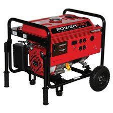 4,050 Watt Gasoline Portable Generator with Wheel Kit