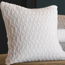 Majorca Squiggle Cotton Throw Pillow