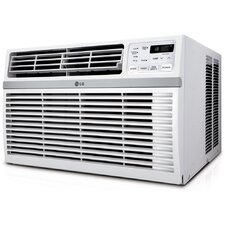 Window-Mounted Air Conditioner with Remote