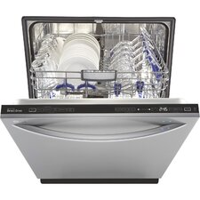 "24"" 44 dBA Steam Built-In Dishwasher in Stainless Steel (Energy Star Certified)"