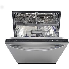 "24"" 42 dBA Steam Built-In Dishwasher in Stainless Steel (Energy Star Certified)"