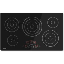 """36.7"""" Electric Induction Cooktop with 5 Burners"""