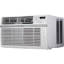 8000 BTU Window-Mounted Air Conditioner with Remote