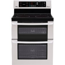 6.7 Cu. Ft. Electric Range in Stainless Steel