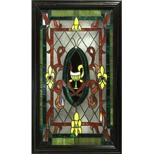 Celia Rectangular Stained Glass Panel