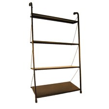"""63"""" Leaning Bookcase"""