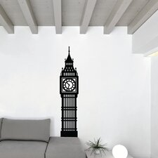 Simplistic Big Ben Wall Decal