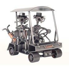 Golf Cart Sculpture