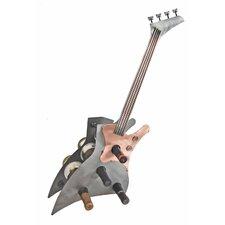 Guitar 1 Bottle Tabletop Wine Rack