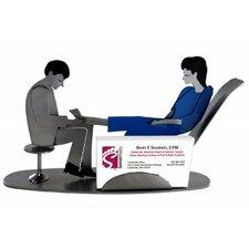 Doctor Podiatrist Male Business Card Holder