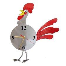 Rooster Pendulum Clock