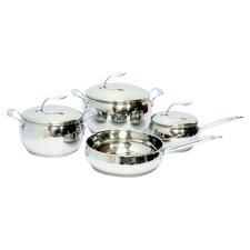 Stainless Steel 7 Piece Cookware Set