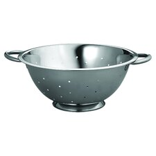 Stainless Steel Deep Colander with Piper Handles