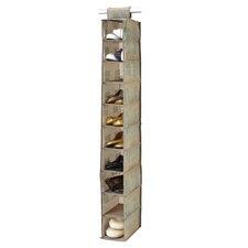Cameo Key 10 Shelf Shoe Organizer