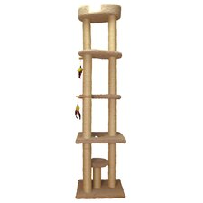 """86"""" Tower Cat Perch"""