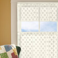 "Polka Dot 42"" Curtain Valance"