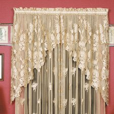 "Windsor 36"" Swag Curtain Valance (Set of 2)"