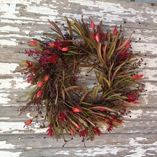 Grass Holiday Wreath