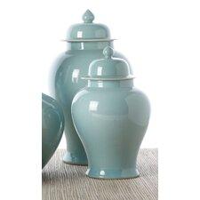 2-Piece Covered Temple Jar Set