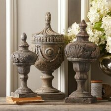 Voila 3 Piece Decorative Urn Set