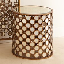 Metropolitan 1000 Faces Gold Table and Stool