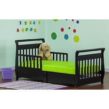 Sleigh Toddler Bed with Storage