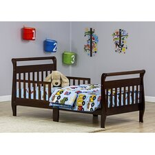 Sleigh Toddler Bed with Safety Rails