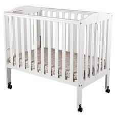 2-in-1 Portable Folding Convertible Crib