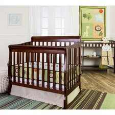 Safari Animals 5 Piece Reversible Portable Crib Bedding Set